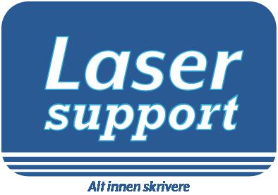 Laser-Support Hedmark/Oppland Logo